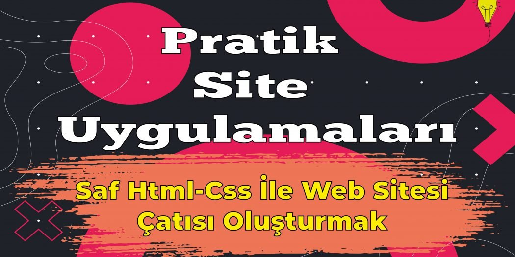 html css basit site